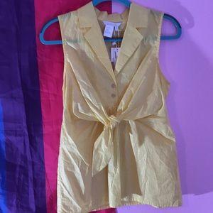 Spanner sleeveless tunic in lemonade 4